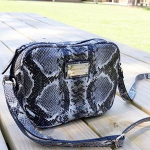Handbags - Nine West Snakeskin Mini Crossbody LIKE NEW!
